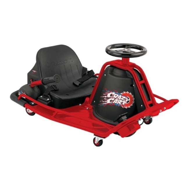 25143499 Razor Crazy Cart Electric 360 Spinning Drifting Ride On Go-Cart  4