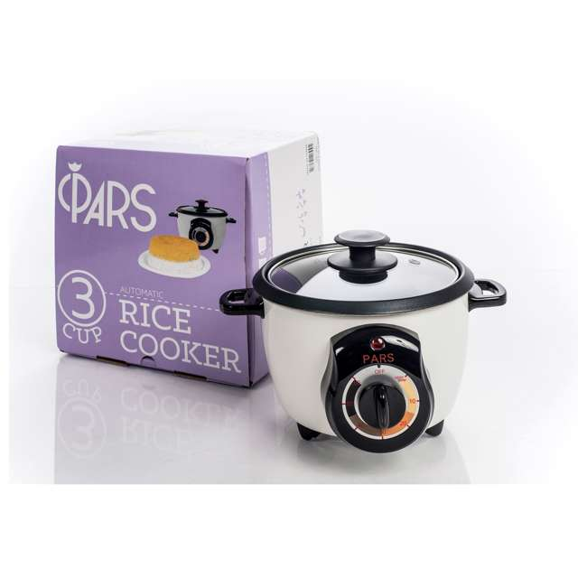 4 x DRC200 Pars Persian 3-Cup Rice Cooker (4 Pack) 1