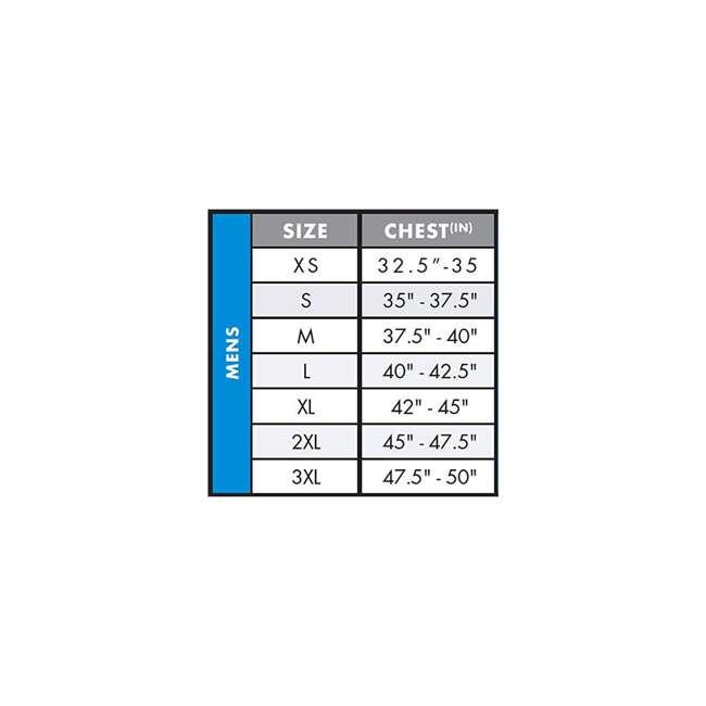 4720-CJ1-XL Reactor USCG Wakeboarding/Waterskiing Life Vest, XL 2