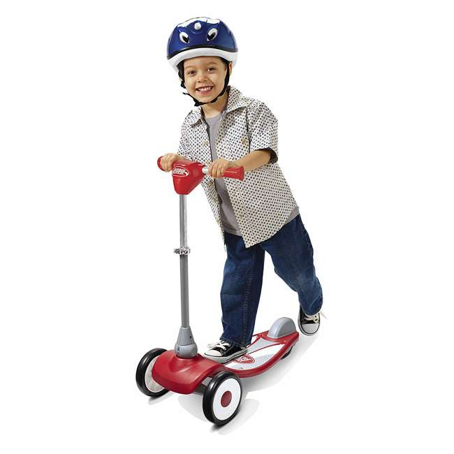 543A Radio Flyer My 1st Scooter Sport for Ages 2 to 5, Red 4