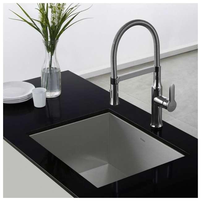 KPF-1640CH Kraus Nola Single Lever Pull-Down Kitchen Faucet, Chrome 3