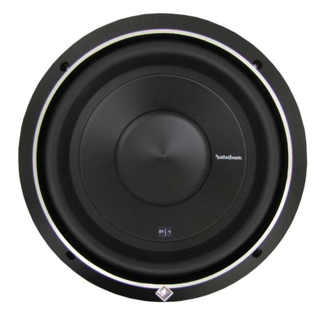 "P1S4-10-U-B ROCKFORD FOSGATE 10"" 500 Watt 4-Ohm Car Audio Subwoofer Sub P1S410 (Used) 3"