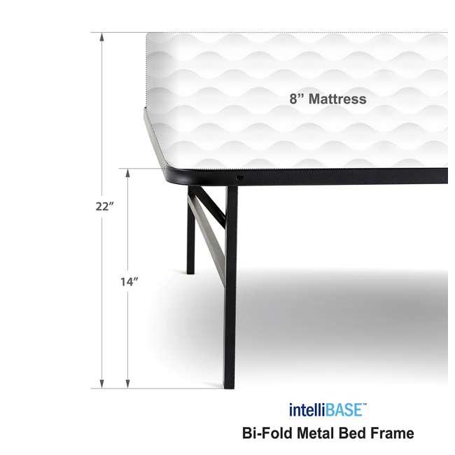 VMI-TIB2-112 intelliBASE Bi-Fold Metal Bed Frame, Twin (2 Pack) 6