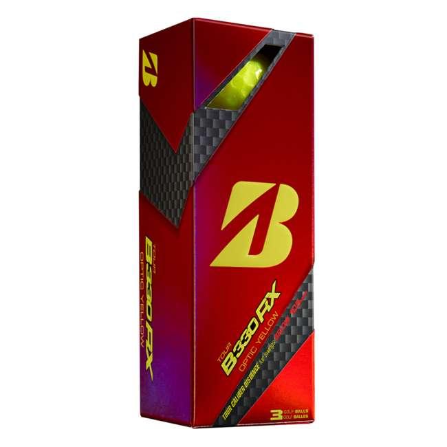 GDYX6D Bridgestone Tour B330-RX AMATOURcore Speed & Distance Yellow Golf Balls, 2 Dozen 1