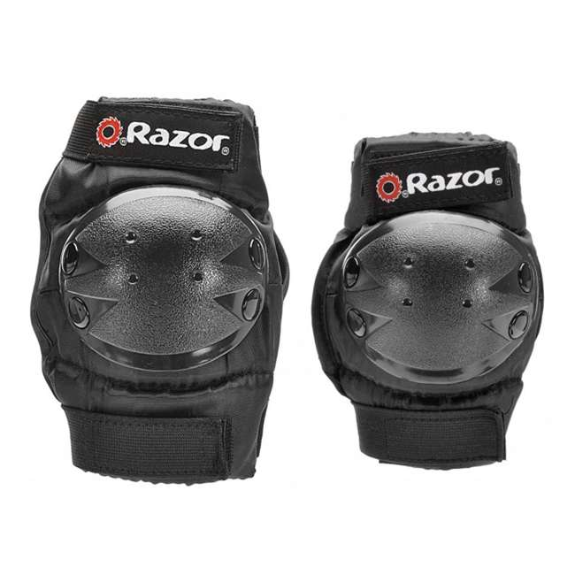 96770 Razor Youth Child Multi-Sport Elbow & Knee Pad Safety Set 3