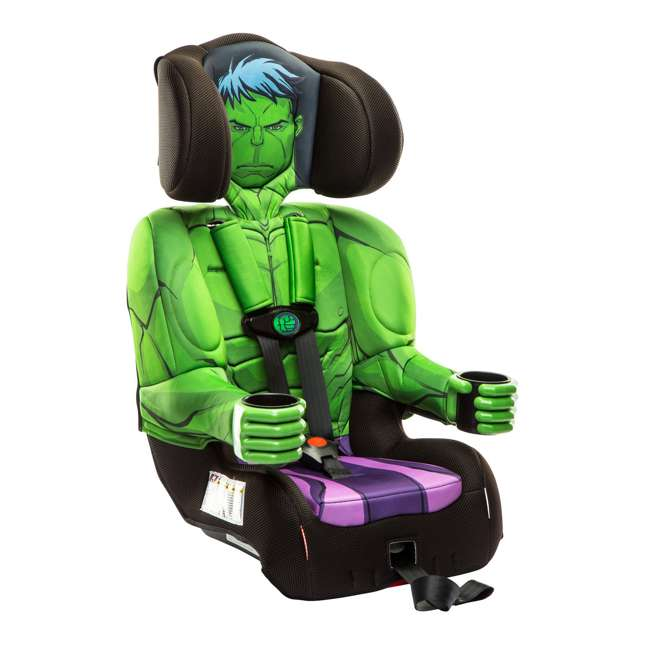6 x KE-3001HLK Kids Embrace Marvel Avengers Incredible Hulk Combination Car Seat  (6 Pack) 2