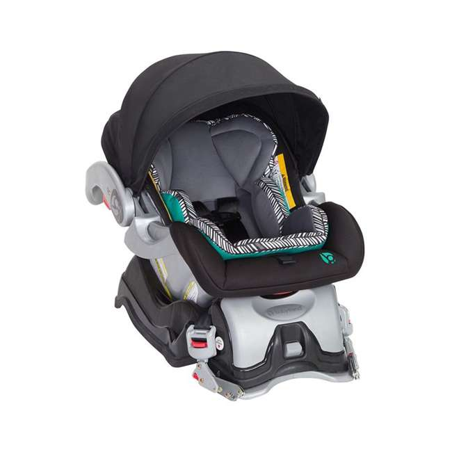 TS89B25B Baby Trend Skyview Plus Adjustable Stroller and Car Seat Travel System, Ziggy 1