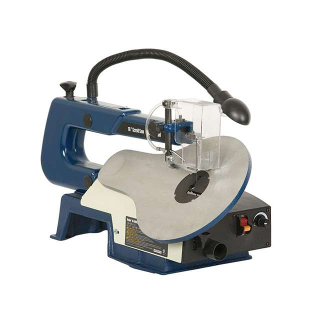 10-600VS RIKON 10600VS Tools 16 Inch Variable Speed Scroll Power Saw with Lamp, Blue 1