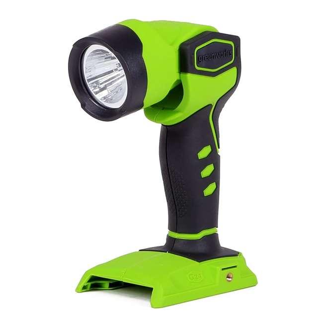 Led Garage Lights Sam S Club: Greenworks 24-Volt Cordless LED Work Light, Battery And