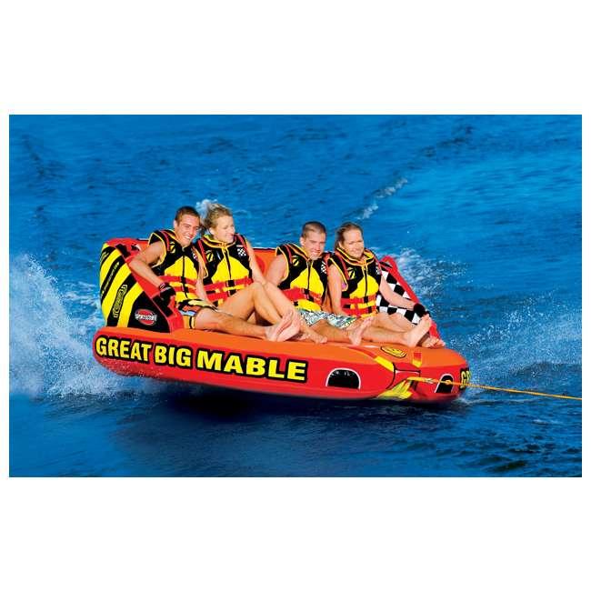 53-2218 Sportsstuff Big Mable Quadruple Rider Towable Tube (2 Pack) 4