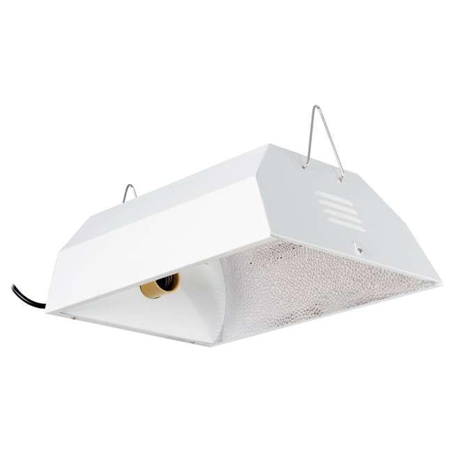 Fluorescent Light Sound: Hydrofarm Compact Fluorescent Grow Light Fixture With 8
