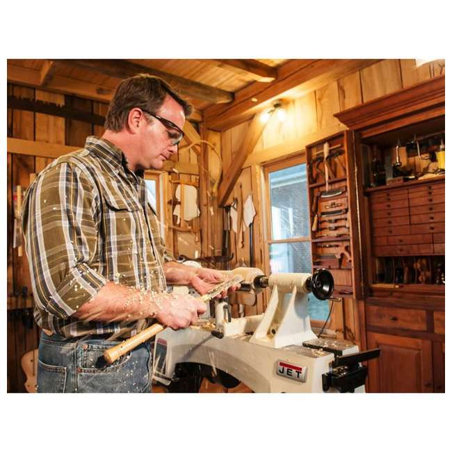 JPW-719200 JET 12 x 21-Inch Variable Speed Woodworking Lathe (Without Stand) 4