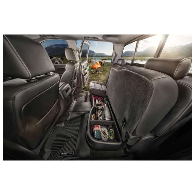 Husky 2015 2018 Ford F150 F250 Supercab Under Seat Storage