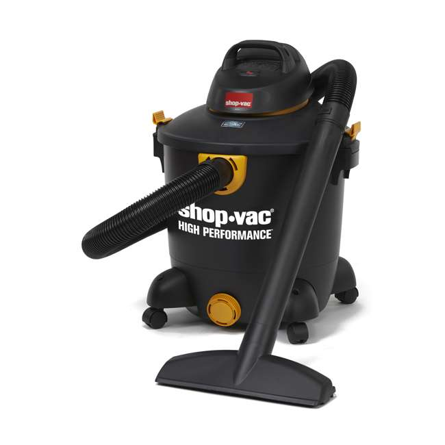 5987300 Shop Vac 12 Gallon 5.5 HP Wet Dry Vacuum Cleaner Portable High Performance