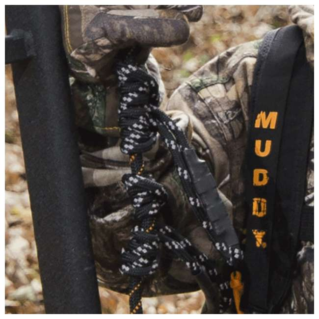 "MUD-MSA500-3 Muddy Safe-Line 30"" Durable Nylon Outdoor Hunting & Tree Stand System, 3 Pack 2"