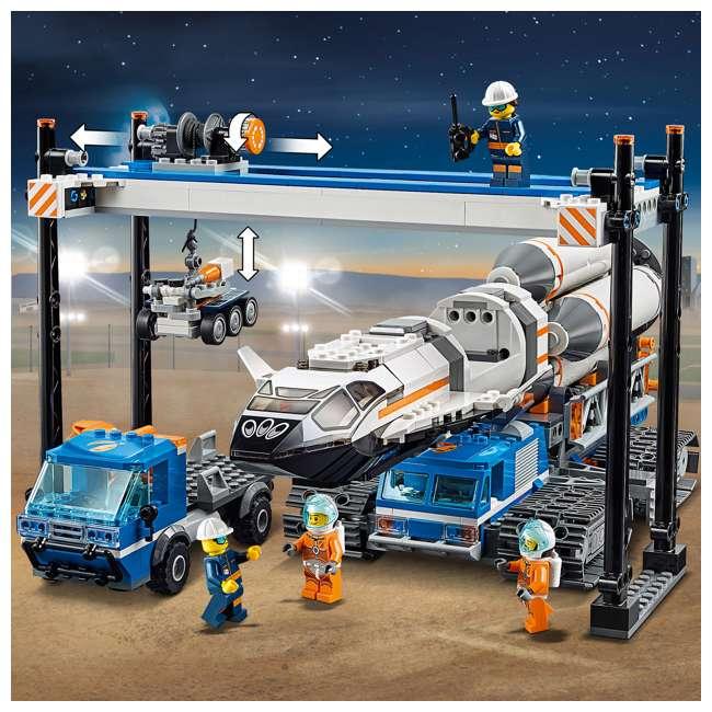 6251738 LEGO City Rocket Assembly & Transport 1055 Piece Building Kit w/ 7 Minifigures 2