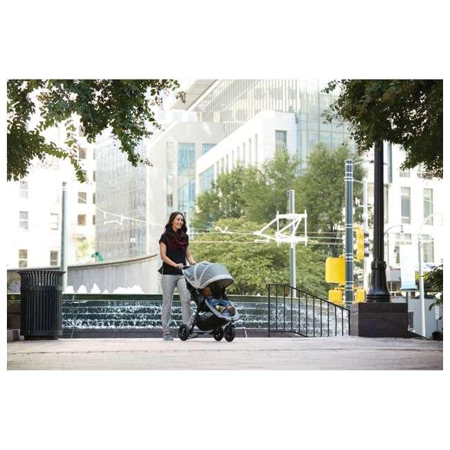 1959401 Baby Jogger City Mini GT Folding Travel Stroller, Teal/Gray 1