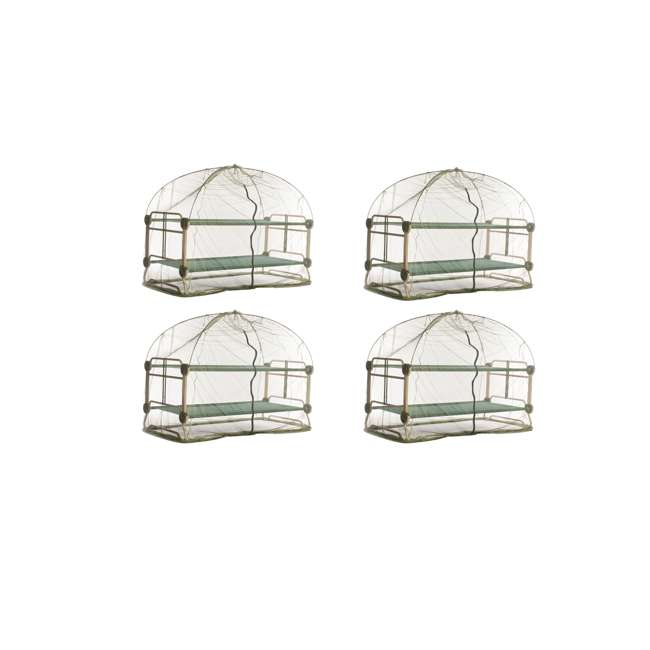 4 x 19810 Disc-O-Bed Mosquito Net and Frame (4 Pack)