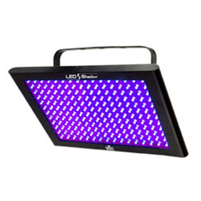 3 x TFX-UVLED Chauvet LED Shadow TFX-UVLED 3 Channel UV Blacklight Panel Lights (3 Pack) 2