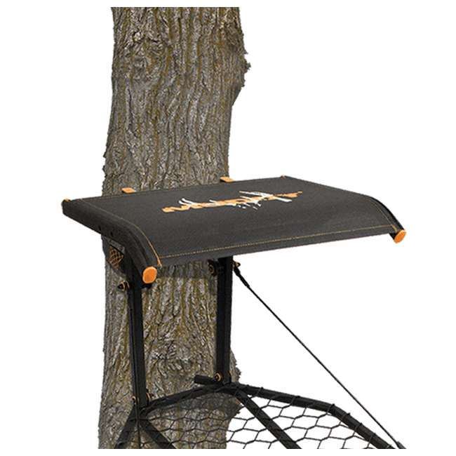 MUD-MFP1200 Muddy The Boss XL Wide Stance Hang On 1 Person Deer Hunting Tree Stand Platform 1