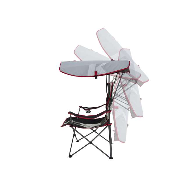 Kelsyus Premium Folding Outdoor Canopy Chair Red  sc 1 st  VMInnovations : kelsyus premium canopy chair - memphite.com