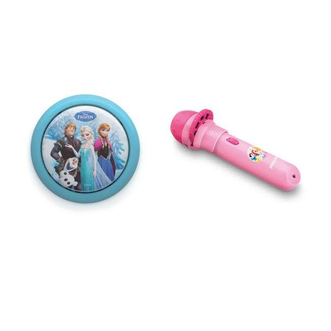 PLC-7192408U0 + PLC-7178828U0 Philips Disney Frozen Touch Night Light w/ Philips Disney Princess Flash Light