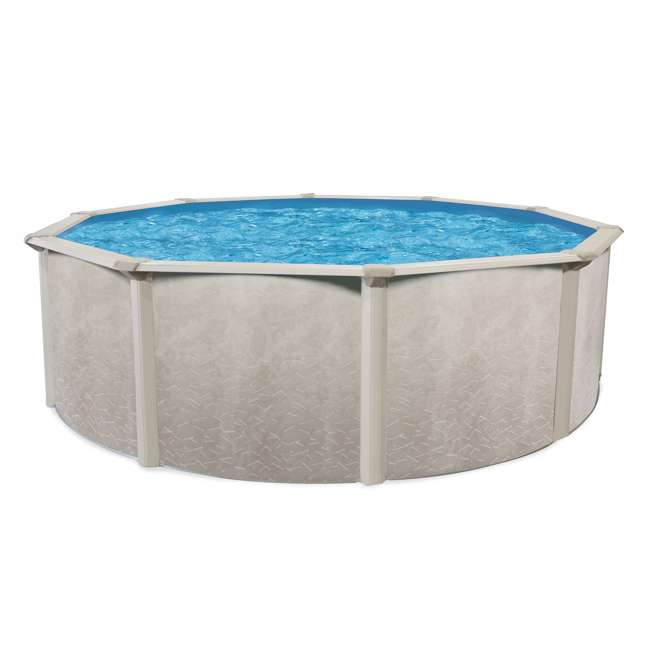 Cornelius pools phoenix 15 x 4 3 foot steel above ground for Clearance above ground pools