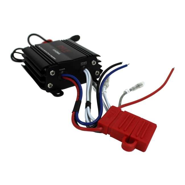 PLMRMP3B Pyle PLMRMP3B 800W 4-Channel Micro Marine Amplifier 2