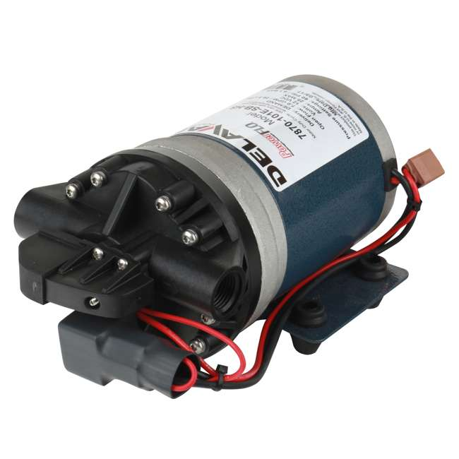 7870-101E-SB Delavan 7870-101E-SB PowerFlo 12 Volt 60 PSI 7 GPM On Demand Diaphragm Pump
