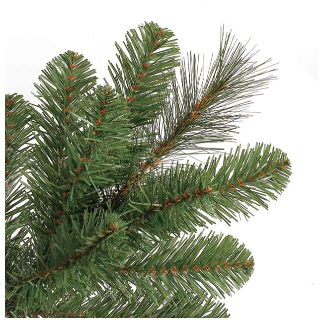 TG70M3W92D00 + GX1623U22F23 Home Heritage 7 Foot Artificial Cascade Pine Christmas Tree with Rotating Stand 7