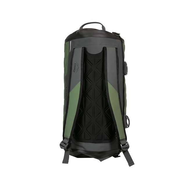 77-57793 Yampa 35 Liter Dry Duffle Waterproof Backpack Bag, Alpine Ascent Green and Gray 1