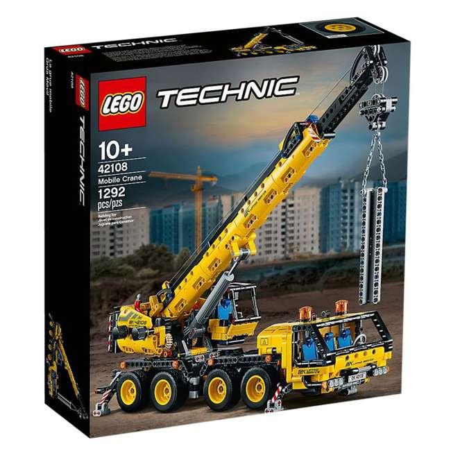 6288778 LEGO Technic 42108 Mobile Construction Crane Vehicle 1292 Piece Building Set 8