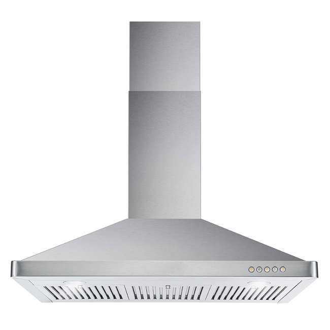 COS-63190 Cosmo COS-63190 36 Inch Wall Mount Range Hood with Push Control, Stainless Steel