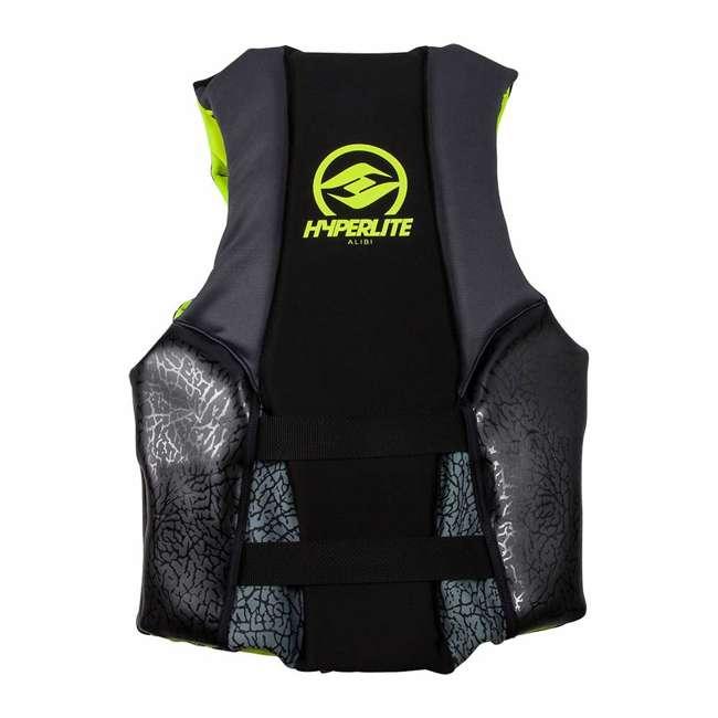 86000135-HO Hyperlite 86000135-HO Mens Medium Indy Neo Life Vest with Flex Zones, Green 1