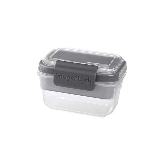 SNL-1000GY Progressive International SNL-1000GY Snaplock Snack To Go Plastic Container