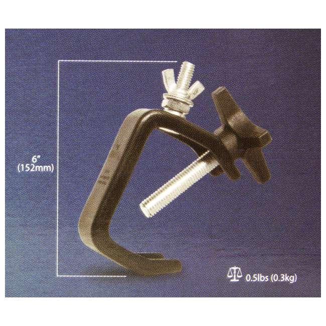 24 x CLP-03 Chauvet CLP-03 Standard 6-Inch C Clamp (24 Pack) 5