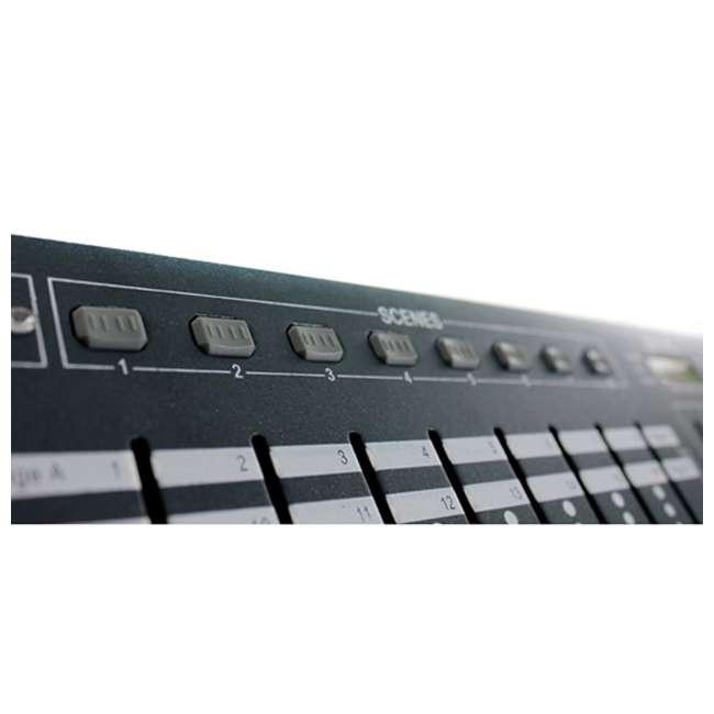 OBEY40 + DMX3P25FT + 3 x DMX3P10FT Chauvet OBEY40 Obey 40 DMX-512 Universal LED Light Controller w/ 10' & 25' Cables 3