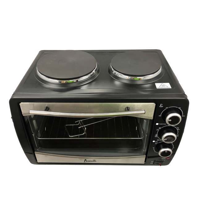 POBW111B-IS Avanti Multi-Function Dual Burner Convection Bake Broil Oven  3