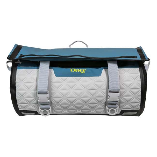 77-57798 Yampa 105 Liter Dry Duffle Waterproof Backpack Bag, Hazy Harbor Gray and Blue 1