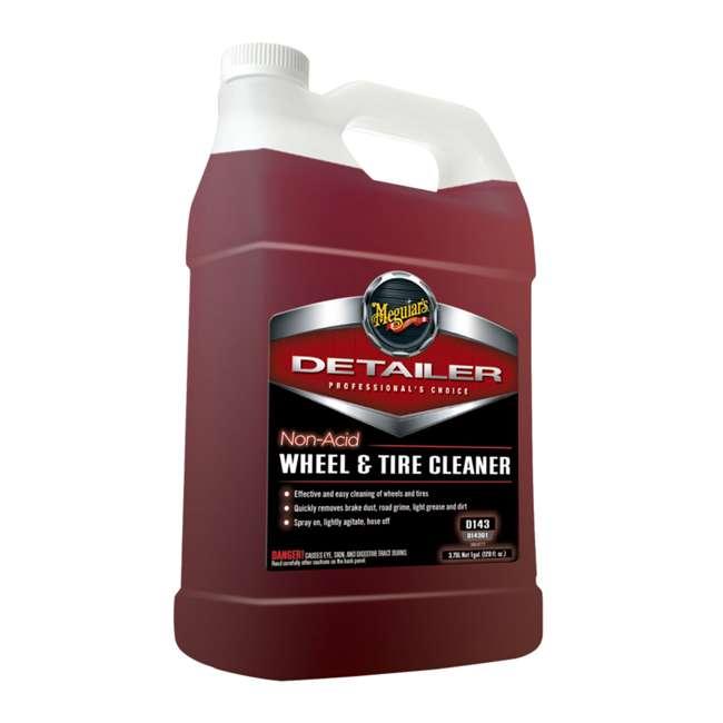D15501 + D11001 + D14301 Meguiar's Spray Detailer, Hyper-Wash and Tire Cleaner, 1 Gal 3