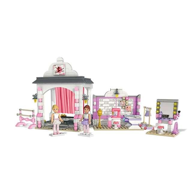 DPK86 Mattel Mega Bloks American Girl Isabelle's Ballet Recital Set 1