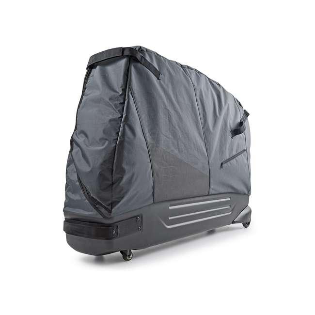 96900 B&W International Padded Lightweight Zippered Bike Bag and Case II, Black