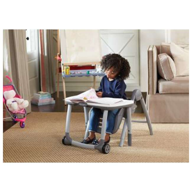 2022439 Graco 2022439 Table2Table Preimier Fold 7 in 1 Adjustable Highchair, Landry Gray 6