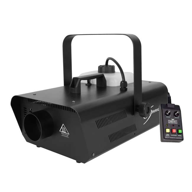 H1302-U-A Chauvet DJ Hurricane Smoke Fog Machine Party Fogger with Wired Remote (Open Box)