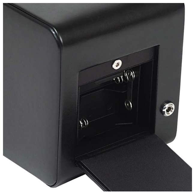 270002 WOLF 270002 Heritage Compact Electric Single Watch Winder with Cover, Black 4