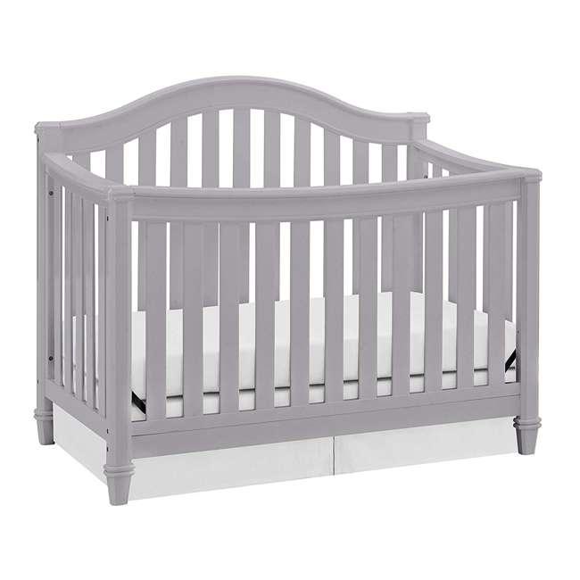 04565-40F Thomasville Kids Auburn 4-in-1 Convertible Baby Crib, Pebble Gray