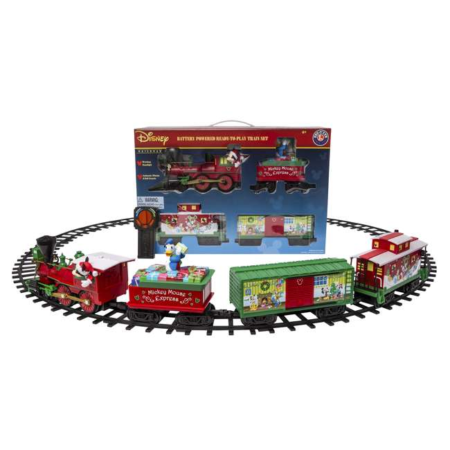 711773 Lionel Trains Mickey Mouse Express Disney Christmas Train Set (For Parts) 9