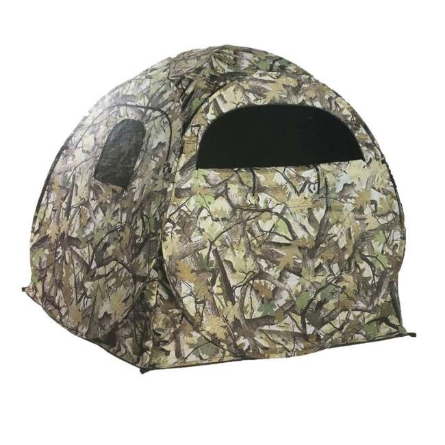 BDGB-100 Big Dog Hunting BDGB-100 Pop Up Deer Hunting Ground Blind Enclosure Box, Camo