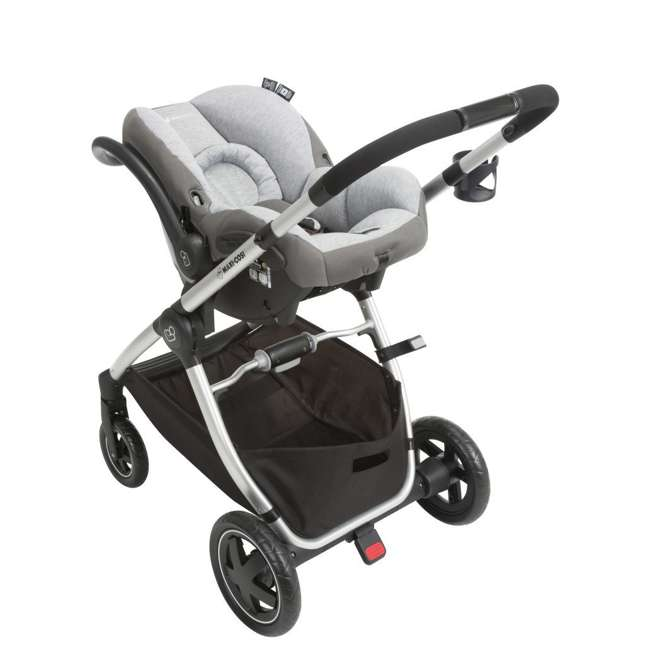 TR362CTF Maxi-Cosi Adorra Stroller and Car Seat Travel System, Loyal Gray 6