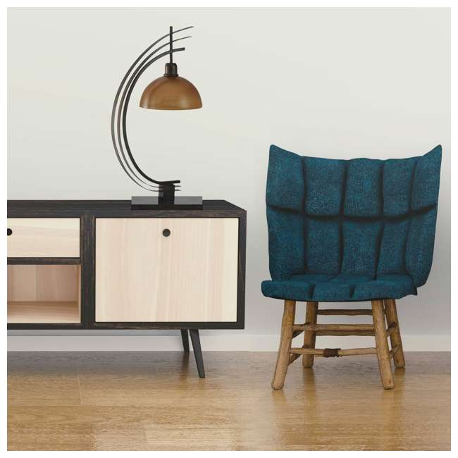 SC-L313895 Abode 84 Bronze Arc Metal Accent Lamp with Glass Globe 4